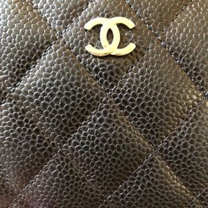 CHANEL Bags - CHANEL Zip Around Caviar long wallet SHW